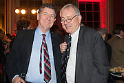 PROF CHRISTOPHER ANDREWS; PETER BOTTOMLEY, The Literary Review Bad Sex fiction award 2012. The In and Out Club, 4 St. james's Sq. London. 4 December 2012