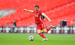 James Milner of Liverpool in action - Mandatory by-line: Nizaam Jones/JMP - 29/08/2020 - FOOTBALL - Wembley Stadium - London, England - Arsenal v Liverpool - FA Community Shield
