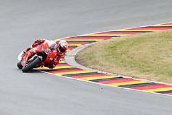 17.07.2010, Sachsenring, GER, MotoGP, Deutschland Grand Prix 2010, im Bild Casey Stoner (Ducati Team #27) EXPA Pictures © 2010, PhotoCredit: EXPA/ nph/  Hammes+++++ ATTENTION - OUT OF GER +++++ / SPORTIDA PHOTO AGENCY
