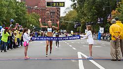 Tufts Health Plan 10K for Women Jordan Hasay breaks tape to win in 31:38