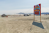 Burning Man 2015 Sign by Mad Dog