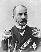 Admiral Rozhestvensky , Commander of the Russian Baltic fleet during the Russo-Japanese War 1904-1905.