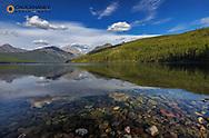 Kintla Lake in Glacier National Park, Montana, USA
