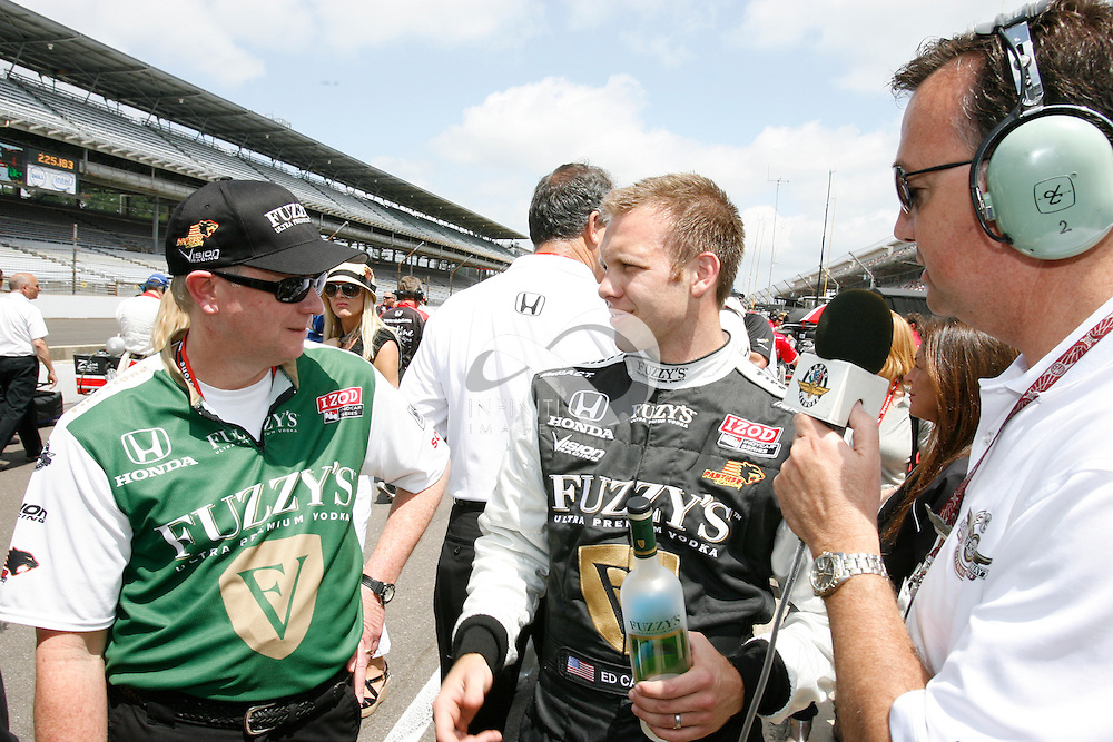 Photos from team Fuzzy's Vodka at practice and qualifications for the Indy 500 at the Indianapolis Motor Speedway in Indianapolis, Indiana. .Corporate event photography by Infinity Images
