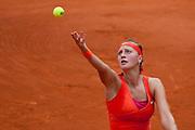 Roland Garros 2011. Paris, France. May 28th 2011..Czech player Petra KVITOVA against Na LI