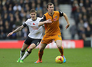 Kevin McDonald of Wolves competes with Jeff Hendrick of Derby - Football - Sky Bet Championship - Derby County vs Wolverhampton Wanderers - iPro Stadium Derby - Season 2014/15 - 8th November 2014 - Photo Malcolm Couzens/Sportimage