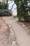 A dirt path along the North Rim of the Grand Canyon, Arizona Photo. Missoula Photographer