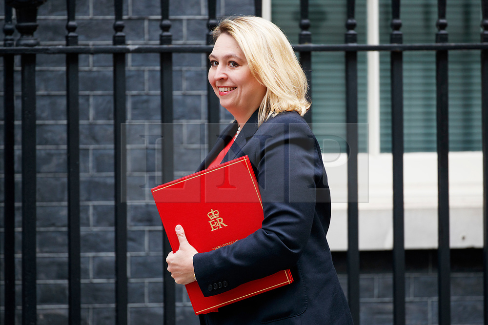 © Licensed to London News Pictures. 18/07/2017. Culture Secretary KAREN BRADLEY attends a cabinet meeting in Downing Street, London on Tuesday, 18 July 2017 London, UK. Photo credit: Tolga Akmen/LNP