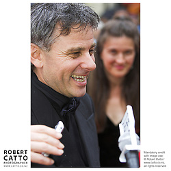 Director Vincent Ward at the premiere of the film River Queen in Wanganui, New Zealand.<br />