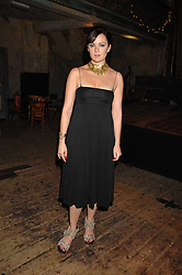 Actress RACHAEL STIRLING at a reception to Discover Wilton's Music Hall held at the hall in Graces Alley, London E1 on 5th December 2007.<br /><br />NON EXCLUSIVE - WORLD RIGHTS