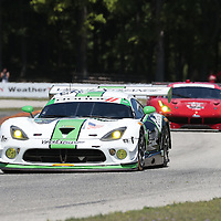 Elkhart Lake, WI - Aug 05, 2016:  The IMSA WeatherTech SportsCar Championship teams take to the track for a practice session for the Continental Tire Road Race Showcase at Road America in Elkhart Lake, WI.