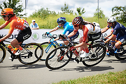 Liane Lippert (GER) at Stage 2 of 2019 OVO Women's Tour, a 62.5 km road race starting and finishing in the Kent Cyclopark in Gravesend, United Kingdom on June 11, 2019. Photo by Sean Robinson/velofocus.com