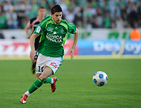 Fotball<br /> Frankrike<br /> Foto: DPPI/Digitalsport<br /> NORWAY ONLY<br /> <br /> FOOTBALL - FRENCH CHAMPIONSHIP 2008/2009 - L1 - AS SAINT ETIENNE v TOULOUSE FC - 16/05/2009 - KEVIN MIRALLAS (ASSE)