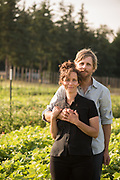 Crystine Goldberg and Brian Campbell, owners and operators of Uprising Seeds in Lynden, WA.