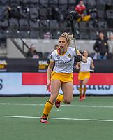 AMSTELVEEN - Noor Omrani (DenBosch)  tijdens de halve finale wedstrijd dames EURO HOCKEY LEAGUE (EHL),  Amsterdam-HC Den Bosch. (1-1) Den Bosch wint shoot outs en plaats zich voor de finale.  COPYRIGHT  KOEN SUYK