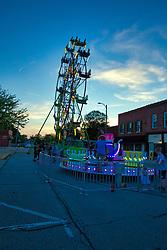 Fair or carnival amusement ride