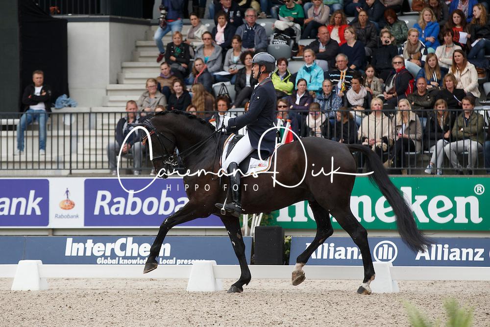 Van Orshagen Mario, (BEL), Wilco V<br /> CDI 5* Grand Prix Special<br /> CHIO Rotterdam 2015<br /> © Hippo Foto - Dirk Caremans<br /> 20/06/15
