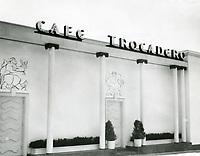 1937 Trocadero Cafe Nightclub in West Hollywood