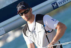 Ben Ainslie during repechage of the Argo Group Gold Cup 2010. Hamilton, Bermuda. 8 October 2010. Photo: Subzero Images/WMRT