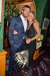 JACOBI ANSTRUTHER-GOUGH-CALTHORPE and LADY MELISSA PERCY at a party for the UK launch of Mr Boho held at Annabel's, 44 Berkeley Square, London on 19th May 2016.