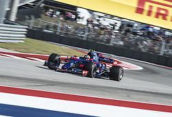October 22, 2017 - Austin, Texas, U.S - 26 DANIIL KVYAT driver for Scuderia Toro Rosso. (Credit Image: © Hoss Mcbain via ZUMA Wire)