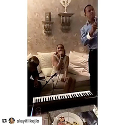 """Jennifer Lopez releases a photo on Instagram with the following caption: """"You wanna be a part of this!!! Don't miss the party... No te pierdas la fiesta!!! #NITUNIYO ON ITUNES AT 930pm!!!"""". Photo Credit: Instagram *** No USA Distribution *** For Editorial Use Only *** Not to be Published in Books or Photo Books ***  Please note: Fees charged by the agency are for the agency's services only, and do not, nor are they intended to, convey to the user any ownership of Copyright or License in the material. The agency does not claim any ownership including but not limited to Copyright or License in the attached material. By publishing this material you expressly agree to indemnify and to hold the agency and its directors, shareholders and employees harmless from any loss, claims, damages, demands, expenses (including legal fees), or any causes of action or allegation against the agency arising out of or connected in any way with publication of the material."""