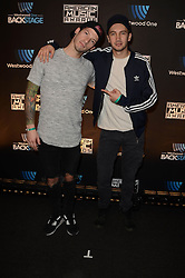 Westwood One Backstage at the American Music Awards Day 2 at the L.A. Live Event Deck. 19 Nov 2016 Pictured: Twenty One Pilots. Photo credit: David Edwards / MEGA TheMegaAgency.com +1 888 505 6342