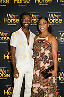 Elenoa rokobaro-Timothy springs at the opening night of War Horse, at the Lyric Theatre, Star City on February 18, 2020 in Sydney, Australia