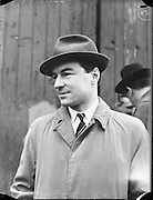 """17/01/1960<br /> 01/17/1960<br /> 17 January 1960<br /> The """"City of Waterford"""" sails from Dublin with a cargo of horses for export. John gordon, Joint Managing Director of Palgrave Murphy Ltd."""