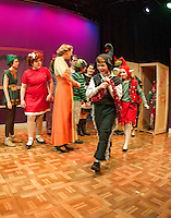 """A """"Very Broadway Christmas"""" presented by the Winnipesaukee Playhouse.  (Karen Bobotas/for the Laconia Daily Sun)"""