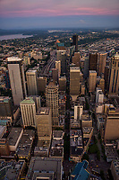 5th Avenue Line of Sight (center), Downtown Seattle