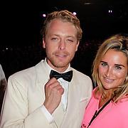 NLD/Hilversum/20120916 - 4de live uitzending AVRO Strictly Come Dancing 2012, Mark van Euwen met Lieke van Lexmond