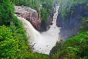 Aguasabon  Fallls at Aguasabon Gorge <br /> Terrace Bay<br /> Ontario<br /> Canada