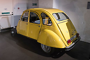 Bond in Motion at London Film Museum<br /> <br /> The Largest Official Collection of Original James Bond Vehicles<br /> <br /> Citroen 2VC - For Your Eyes Only
