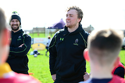 Jamie Shillcock delivers coaching sessions at Stourbridge RFC  - Mandatory by-line: Dougie Allward/JMP - 19/03/2017 - Rugby - Stourbridge RFC - Stourbridge, England - Worcester Warriors Community Rugby