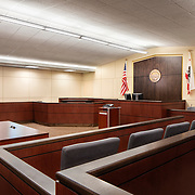 Nacht & Lewis- Merced County Court Interiors