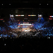LAS VEGAS, NV - SEPTEMBER 13: A general view of the arena before the Floyd Mayweather Jr. v Marcos Maidana WBC/WBA welterweight title fight at the MGM Grand Garden Arena on September 13, 2014 in Las Vegas, Nevada. (Photo by Alex Menendez/Getty Images) *** Local Caption *** Floyd Mayweather Jr; Marcos Maidana