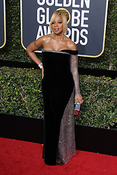 75th Annual Golden Globes. 07 Jan 2018 Pictured: Mary J Blige. Photo credit: MEGA TheMegaAgency.com +1 888 505 6342