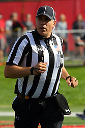 21 October 2017:   Jim Scifres during the South Dakota Coyotes at Illinois State Redbirds Football game at Hancock Stadium in Normal IL (Photo by Alan Look)
