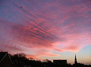 leeds city sunrise England UK