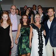NLD/Amsterdam/20121007- Premiere Aspects of Love, cast, Ernst Daniel Smid, Lone van Roosendaal en Rene van Kooten, Maaike Widdershoven en Michelle van de Ven