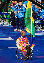 Team Ghana during Opening ceremony during Day 1 of Summer Paralympic Games London 2012 on August 29, 2012, in Olympic stadium, London, Great Britain. (Photo by Vid Ponikvar / Sportida.com)