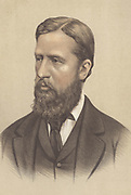 Spencer Compton Cavendish, Marquis of Hartington and 8th Duke of Devonshire (1833-1908) British Liberal statesman and landowner. From 1858-1891 when he succeeded to his dukedom, he served in Liberal governments. Chromolithograph c1880.