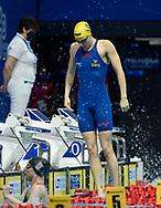 HANSSON Louise SWE Sweden<br /> 100m Backstroke Women Preliminary<br /> Swimming<br /> Budapest  - Hungary  19/5/2021<br /> Duna Arena<br /> XXXV LEN European Aquatic Championships<br /> Photo Giorgio Perottino / Deepbluemedia / Insidefoto