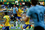 Belo Horizonte, 26 de junho de 2013<br /> <br /> Semifinal da Copa das Confederacoes no estadio do Mineirao, com Brasil x Uruguai.<br /> <br /> Fotos: BRUNO MAGALHAES / NITRO