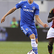 Marco van Ginkel, Chelsea, in action during the Chelsea V AC Milan Guinness International Champions Cup tie at MetLife Stadium, East Rutherford, New Jersey, USA.  4th August 2013. Photo Tim Clayton
