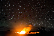 Volcanoes National Park.  Big Island.  Hawaii. May, 2015.