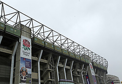 A general view of Twickenham Stadium before the NatWest 6 Nations match between England and Ireland.