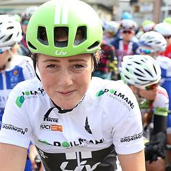 BORKUM (GER) wielrennen <br />De slotetappe van de Energiewachttour 2016 werd verreden op het Duitse Waddeneiland Borkum. Floortje Mackay sloot de Energiewachttour af als beste jongere