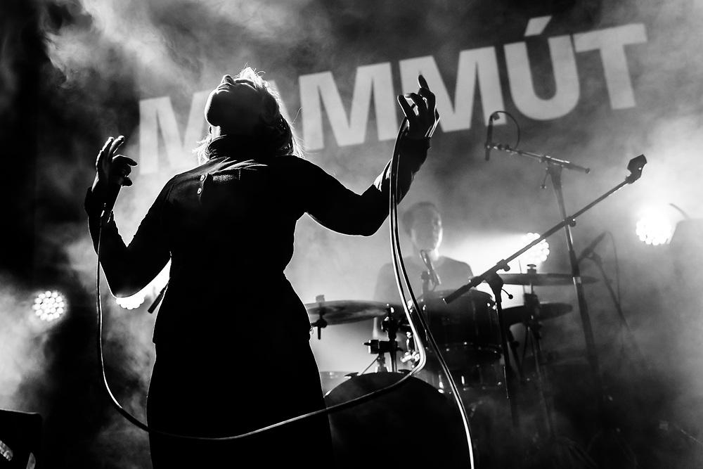 Katrína Mogensen of Icelandic indie-rock band Mammút at Iceland Airwaves